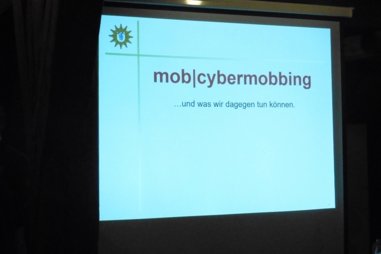 Advocacy Abend zum Thema Cybermobbing