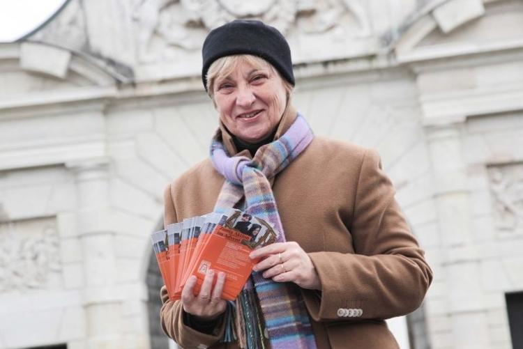 Edith Philipp-Rasch bei der Fotoaktion