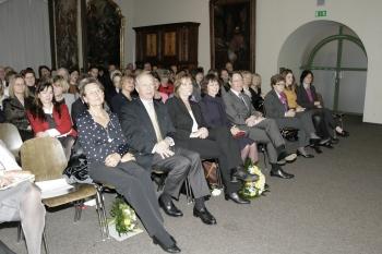 Gäste der Feier im Barocksaal des Stadtmuseums ©Zonta Club Ingolstadt