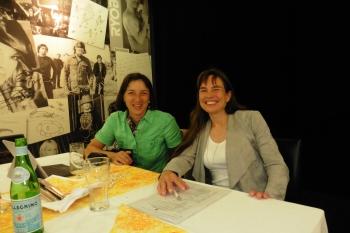 Sabine Bschorer und Petra Hackenberg-Wiedl  ©2018 Zonta Club Ingolstadt