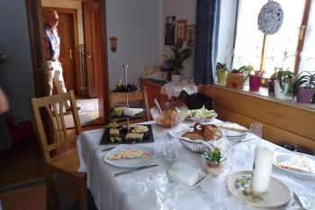 Festlich gedeckter Tisch ©2020 Zonta Club Ingolstadt