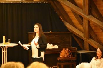 Preisträgerin in der Advocacy Veranstaltung des Zonta Club Ingolstadt ©2018 Zonta Club Ingolstadt