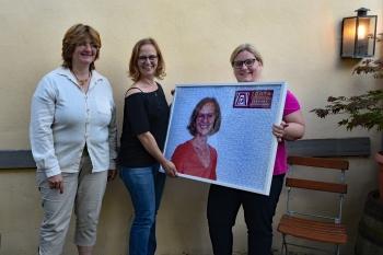 Präsidentschaftsübergabe 2020 von Edith Laga an Marlies Mayer ©2020 Zonta Club Ingolstadt